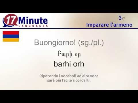 Imparare l'armeno (videocorsi di lingua gratuiti)