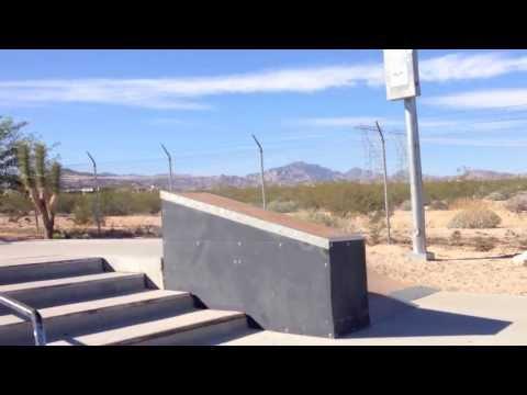 Laughlin skatepark video review