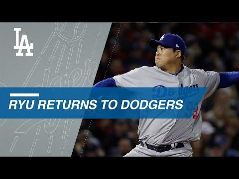 Video: Hyun-Jin Ryu hits the free agent market