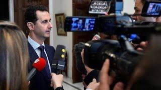 تصريح مضحك لبشار الأسد يشعل الحلقة والضيف المؤيد للأسد ينسحب غاضبا..ماذا قال الأسد عن أستانا؟