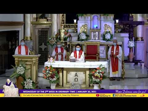 Sambuhay TV Mass sa Parokya | Jan 20, 6AM | Wednesday of the Second Week in Ordinary Time