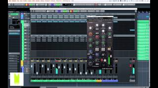 Mix challenge - Mixing drums with the Waves SSL 4000 E Channel only