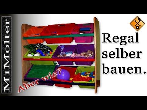 Regal selber bauen wie? - Anleitung / Kinderregal mit boxen von M1Molter