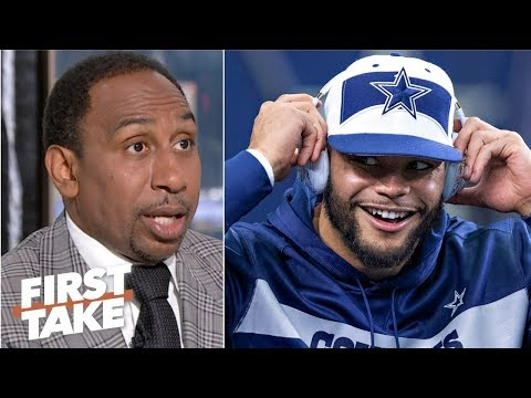 Video: Dak Prescott reportedly turns down $30M Cowboys contract offer | First Take
