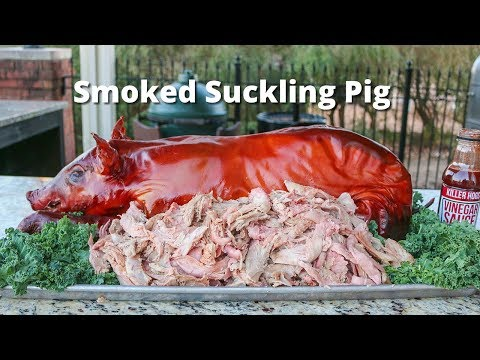 Suckling Pig | Suckling Pig Smoked On Ole Hickory Smoker
