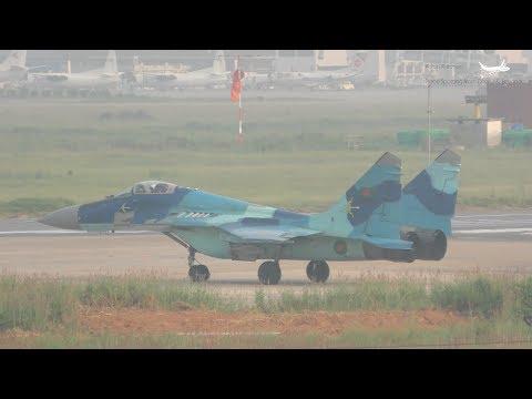 BAF Mig-29 Engine Spool-ups: Plane...