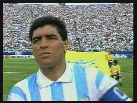 Maradona - Campeón México 86 y Subcampeón Italia 90