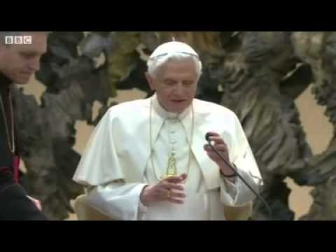 Pope Benedict hints he will retire into seclusion