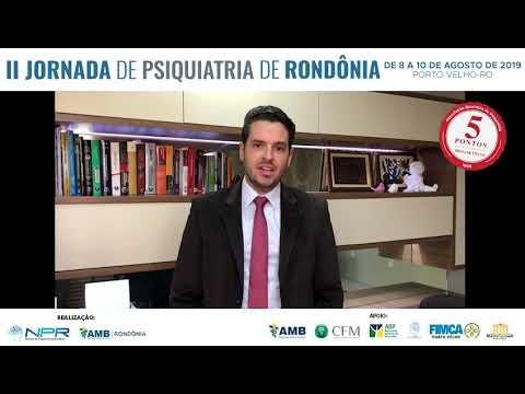 II Jornada de Psiquiatria – Convite Dr. Humberto Muller