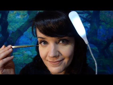 [ASMR] Holistic Health – Acupressure, Gloves, Ear Cleaning