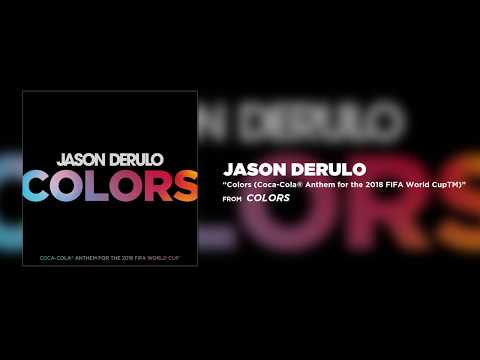 اسمع Colors: أغنية كأس العالم 2018 للأمريكي جيسون ديرولو