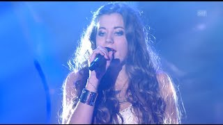 Lisa Oribasi - Crazy/Rolling In The Deep - Blind Audition - The Voice of Switzerland 2014