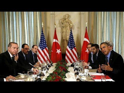 Ομπάμα σε Ερντογάν: Σας στηρίζουμε, να τα βρείτε με τη Μόσχα