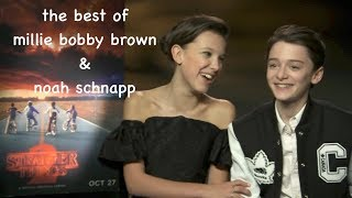 the best of millie bobby brown and noah schnapp