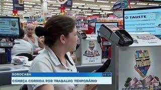 Supermercados de Sorocaba criam pelo menos 600 vagas temporárias para o fim de ano