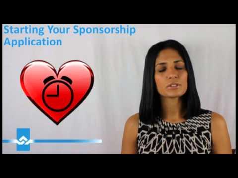 Starting Your Sponsorship Application Video