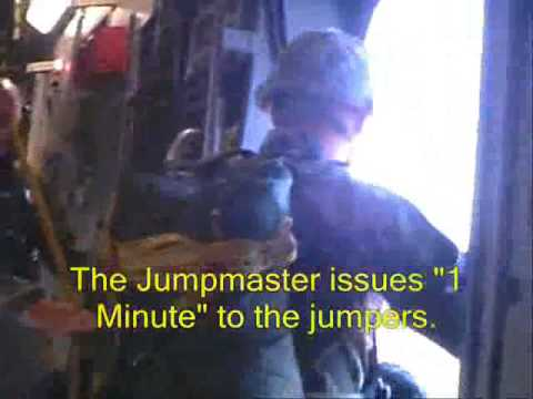 airborne - Part II of the 325th Special Troops Battalion (82nd Airborne Division) C-17 Airborne Operation onto Sicily Drop Zone, Fort Bragg, NC on 5 October 2006. This ...