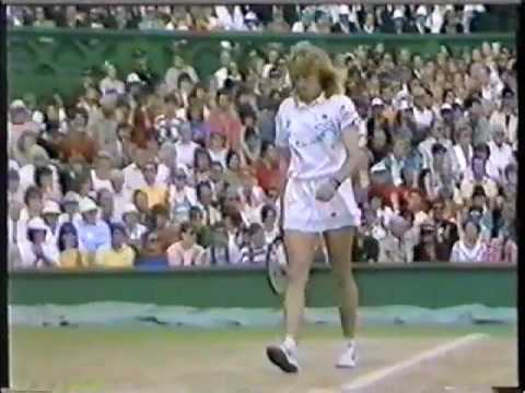 Steffi Graf's Amazing backhand