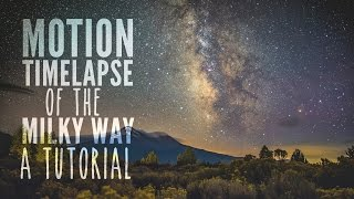 Video Tutorial: Motion Timelapse of the Milky Way with Dynamic Perception Stage One and R MP3, 3GP, MP4, WEBM, AVI, FLV Juli 2017