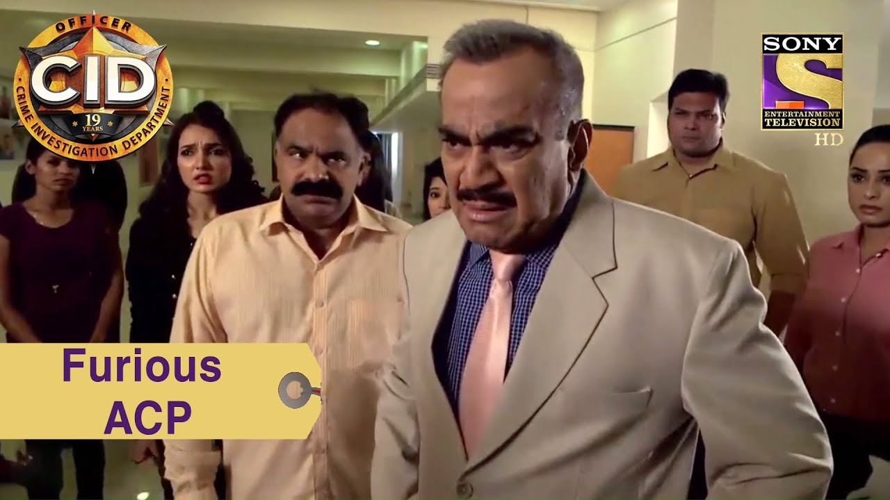 Your Favorite Character   ACP Pradyuman's Fury On The Ghost   CID