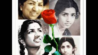 lata mangeshkar-sekuntum mawar merah [one red rose].wmv