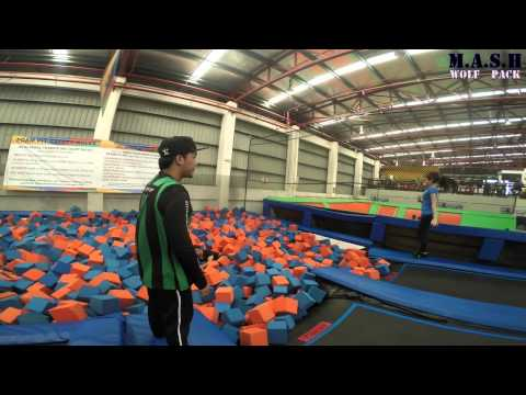 GOPRO : jumpstreet session with bad end (injured)