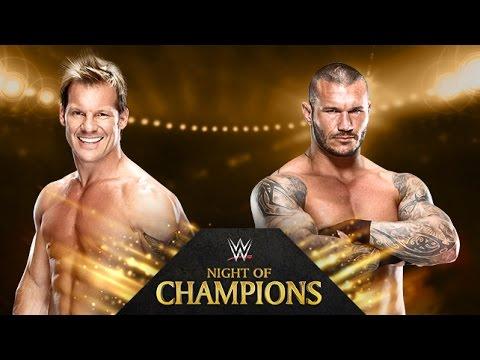 Chris Jericho vs. Randy Orton - Night of Champions - WWE 2K14 Simulation 17 September 2014 08 PM