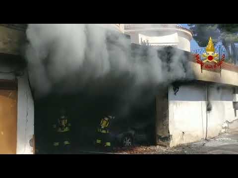 Incendio alla Scogliera VIDEO