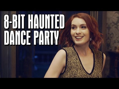 the 8 bit haunted dance party halloweek