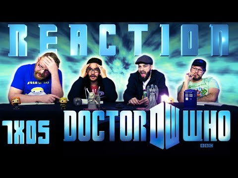 """Doctor Who 7x5 REACTION!! """"The Angels Take Manhattan"""""""