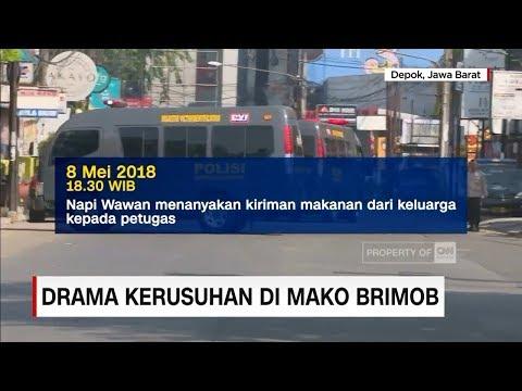 Drama Kerusuhan di Mako Brimob: Berawal dari Cekcok Makanan