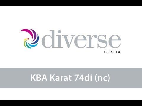 KBA Karat 74 DI (non-coated)