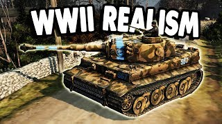 BEST WWII MOD | Huge TANK ARMY Crushes ENEMY BASE | Company of Heroes 2 Wikinger Mod • ICBMRaptor2