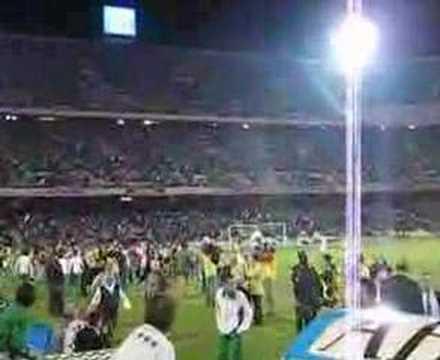 Afición del Betis Estadio Manuel Ruiz de Lopera