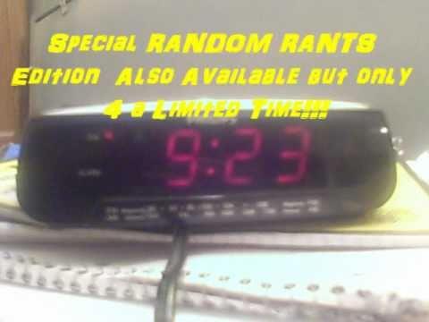 SCREAMING Alarm Clock [BANNED SuperBowl XLV Commercial]