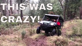 4. Buying a New Honda Pioneer 1000 and Hillclimbing It in the Rain
