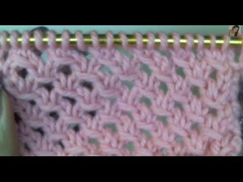 il punto rete lavorato a maglia