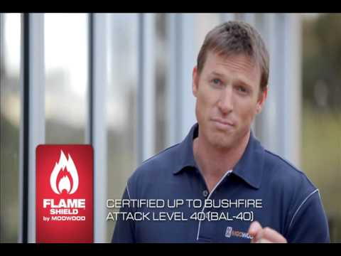 ModWood Television Advertisement 2012 FlameShield