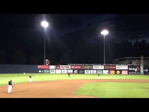 UFO at Baseball Game