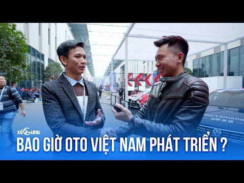 Nguyễn Thanh Đàm: Bao giờ ô tô Việt Nam phát triển? tại Shanghai Automechanika 2019 @ vcloz.com