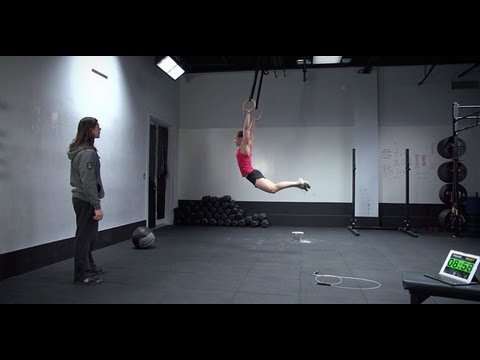 CrossFit – Open Workout 13.3 – Video Submission Example with Julie Foucher