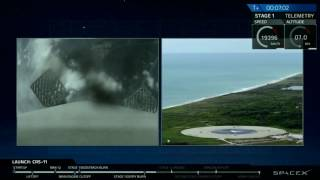 Jun 3, 2017 ... Landing of Falcon 9 First Stage from Dragon CRS 11 Mission ... SpaceX Launch n& Landing of Falcon 9 + Dragon CRS-10 Mission to the ISS...