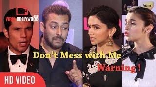 Video Bollywood Celebrities Losing Thier Temper   Angry Salman Khan, Deepika, Alia, Aishwarya & Many.... MP3, 3GP, MP4, WEBM, AVI, FLV Juli 2018