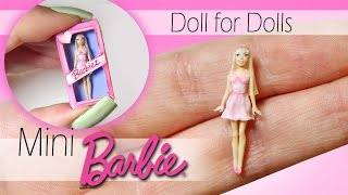 Video Miniature Barbie Tutorial // DIY Dolls/Dollhouse MP3, 3GP, MP4, WEBM, AVI, FLV November 2017