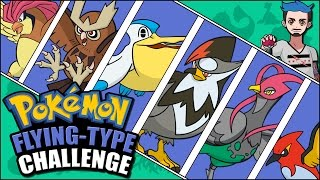 FLYING POKÉMON CHALLENGE | Pokémon Naming Challenge by Ace Trainer Liam