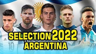 Argentina 2022 Qatar World Cup Team | Eleven New Star Player By Sports Fact
