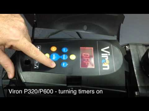 P320/P600 - Turning Timers On