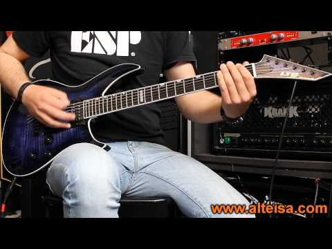 ESP Ltd Elite Horizon III NT (Killswitch Engage Cover)