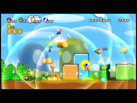 super mario bros 3+ wii - demonstração