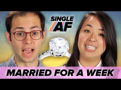 Two Single People Get Married For A Week